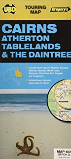 Cairns Atherton Tablelands & The Daintree Map 482 32nd (Touring Map)