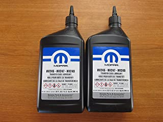 Best mopar transfer case lubricant nv247 Reviews