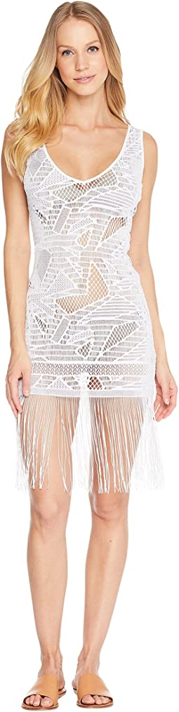 El Carnaval Flirty Fringe Dress Cover-Up