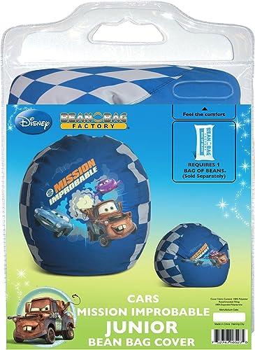 seguro de calidad Disney Disney Disney Cars Mission Improbable Junior Bean Bag Chair Cover  precios al por mayor