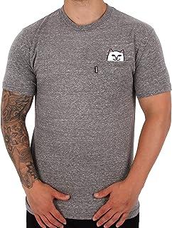 9556d8b48a8cd5 Rip'n'Dip RIPNDIP Lord Nermal Pocket T-Shirt - Heather Grey