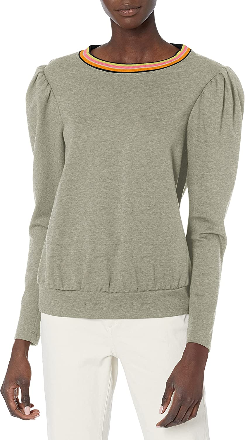 Trina Turk Women's Top Puff Easy-to-use Sleeve Clearance SALE! Limited time!