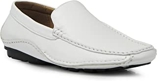 CFORD Men's Light Weight Casual Cruise Venetian Classic Driving Moccasin Loafer Driver Shoes
