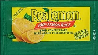 ReaLemon Lemon Juice (0.14 oz Packets, Pack of 200)
