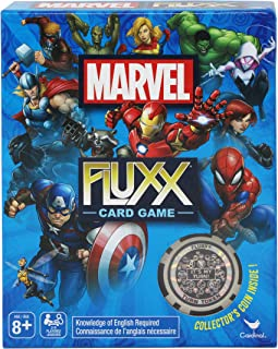 Marvel Fluxx Card Game with Collector's Coin