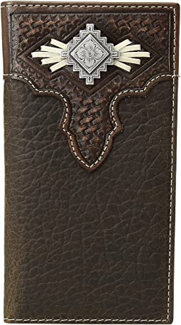 M&F Western - Aztec Concho with Lace Rodeo Wallet