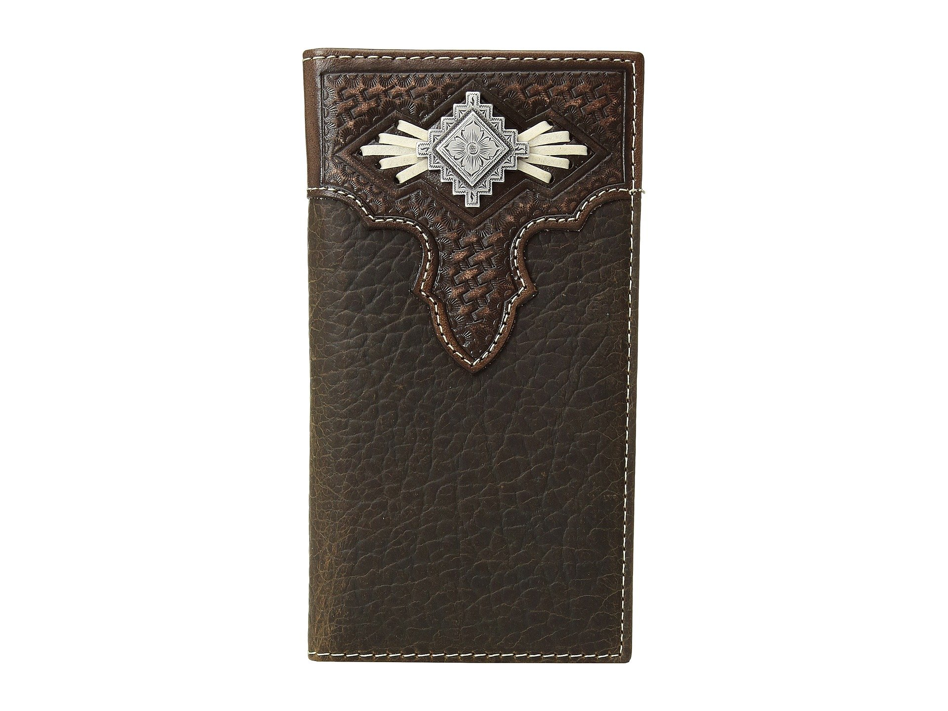 Rodeo Medium Concho M Lace Brown amp;f Aztec With Wallet Western FxYU8xC