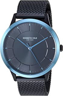 Kenneth Cole Men's Quartz Watch, Analog Display and Stainless Steel Strap KC50781001