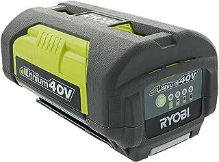Ryobi OP4026A Genuine OEM 40V High-Capacity Lithium Ion Battery w/ Onboard Fuel Gauge (Renewed)