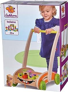 Eichhorn 100001833 wózek do nauki zabaw i chodzenia, kolorowy