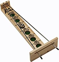 WE Games Shoot The Moon Board Game - Solid Maple Wood (Made in USA)