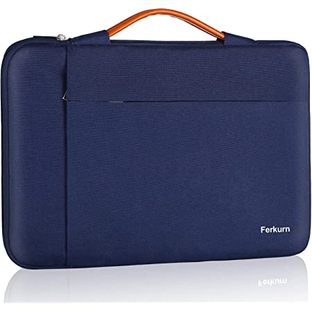 Ferkurn 11 11.6 12 Inch Chromebook Case Laptop Sleeve Water Repellent Bag with Handle Compatible with Surface, Notebook,XPS, Acer, 13 inch MacBook pro, Protective Carrying Computer Bag for Women Men