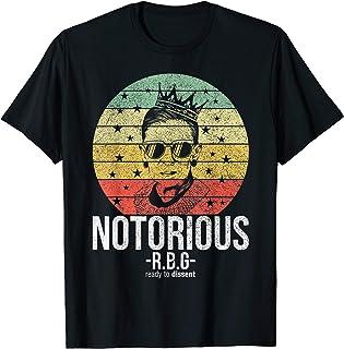 Notorious RBG Ruth Bader Ginsburg Shirts Political...