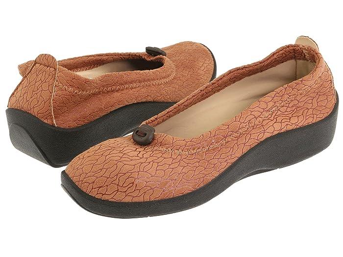 Arcopedico  L14 (Camel) Womens Flat Shoes