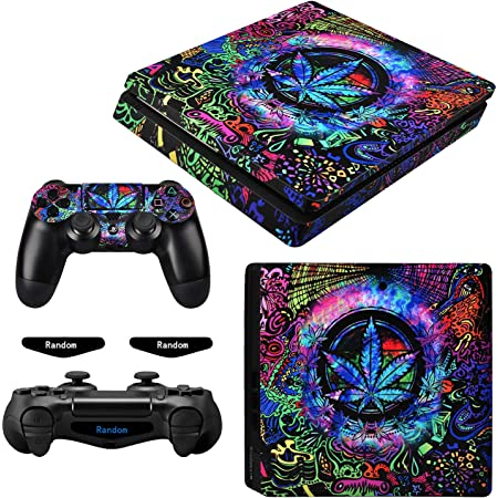 Sony Playstation 4 Slim Console /& Remote controller stickers Money Notes Sticker//Skin PS4 slim pss3