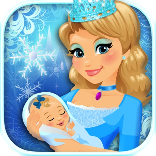 Ice Princess Newborn Baby & Mommy - Frozen Kids Maternity Doctor Games FREE