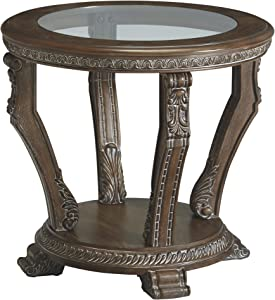 Signature Design by Ashley - Charmond Traditional End Table, Brown