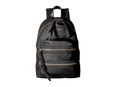Marc Jacobs Nylon Biker Mini Backpack (Black 1) Backpack Bags