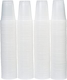 AmazonBasics 16-Ounce Disposable Plastic Cups, 240-Pack, Clear, Translucent