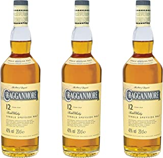 Cragganmore 12 Years/Jahre, 3er, Single Malt, Whisky, Scotch, Alkohol, Alokoholgetränk, Flasche, 40%, 200 ml, 701742