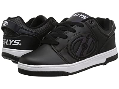 Heelys Voyager (Little Kid/Big Kid/Adult) (Black Reflective/Black) Boys Shoes
