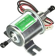 MIDIYA HEP-02A Low Pressure (2.5-4 PSI) Universal 12V Heavy Duty Gas Diesel Inline Electric Fuel Pump Metal Solid Petro Gasoline or Diesel Engine