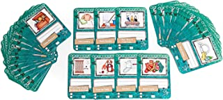 NEATLINGS Chore Cards Household Deck | 54 Household Chores | Reward & Responsibility | Teal