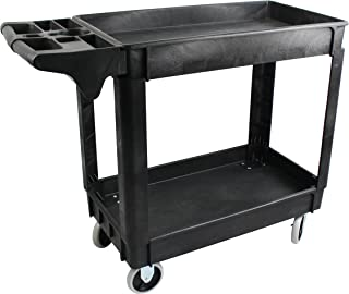 MaxWorks 80855 500-Pound Service Cart With Two Trays (40