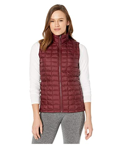The North Face ThermoBalltm Eco Vest (Deep Garnet Red Matte) Women