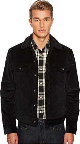 Naked & Famous - Stretch Corduroy Sherpa Jacket