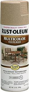Rust-Oleum 223524 Multi-Color Textured Spray Paint, 12 oz, Desert Bisque