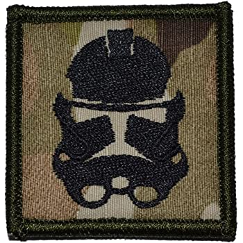 Multicam Stormtrooper Patch 2x2 inch Military Patch Morale Patch