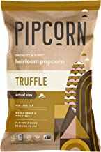 Pipcorn Heirloom Mini Popcorn - Truffle (3 Pack of 4.5oz Bags) - Vegan, No Artificial Anything, Non-GMO Heirloom Corn, No ...
