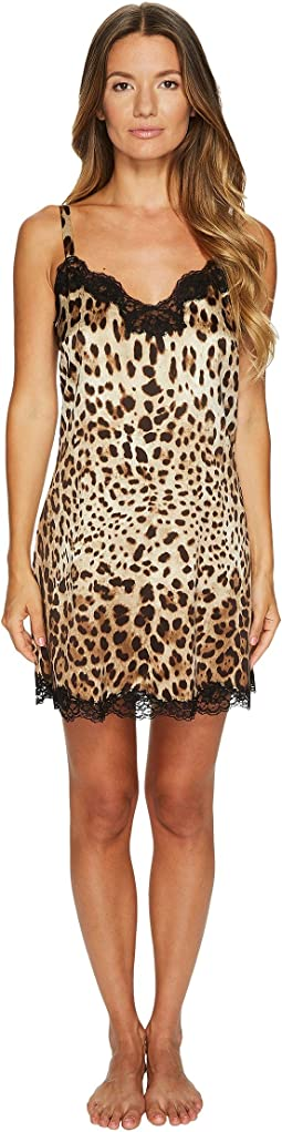 Dolce & Gabbana - Stretch Silk Lace Cheetah