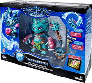 LightSeekers Awakening Mari Starter Pack Includes: FusionCore, Mari Hero, 2 Exclusive AR Cards, Aquadart Crab, 3 AR Combo ...
