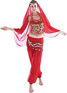 12 Colors Belly Dance Costumes India Dance Outfit Halloween