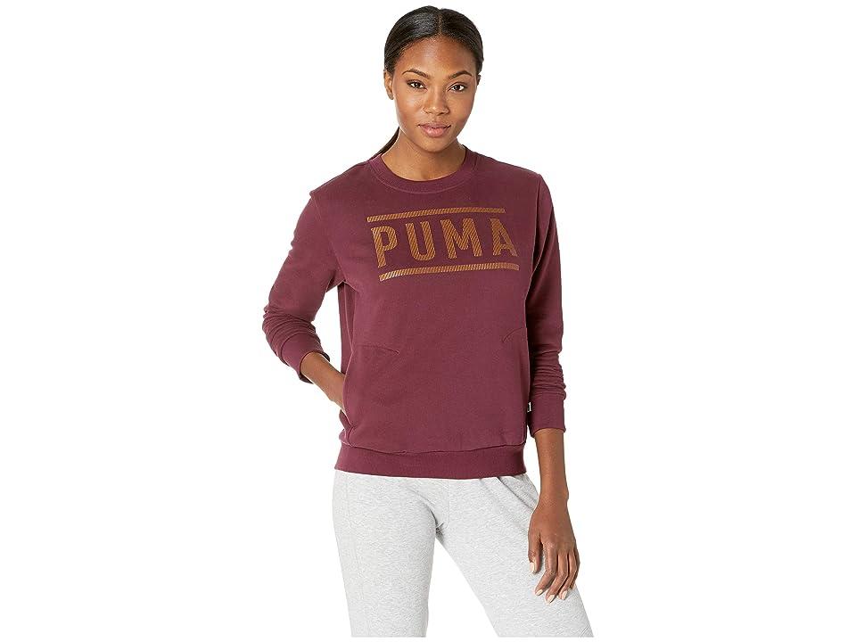 PUMA Athletic Crew Sweater (Fig/Bronze Medal) Women