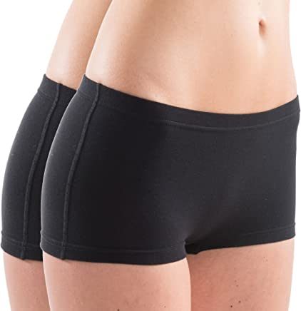 HERMKO 5700 2er Pack Damen Panty aus anschmiegsamer Baumwolle/Elastan