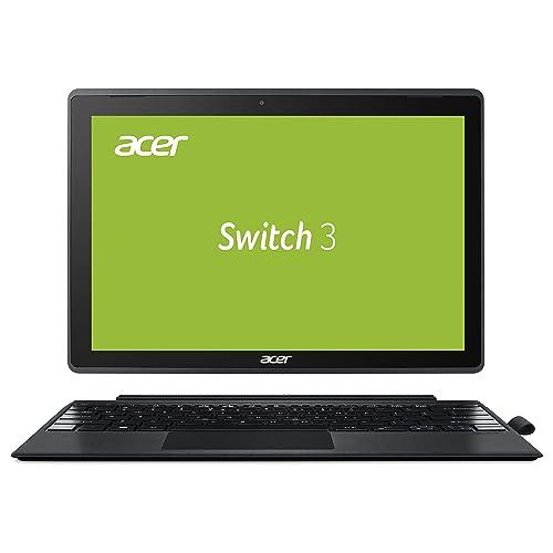 Acer Switch 3 SW312-31-P5VG 31 cm (12,2 Zoll Full-HD) Convertible Notebook (Intel Pentium N4200 Quad-Core, 4GB RAM, 64GB eMMC, Intel HD, Win 10 S) grau
