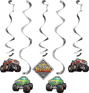 Monster Truck Dizzy Danglers, 5 ct