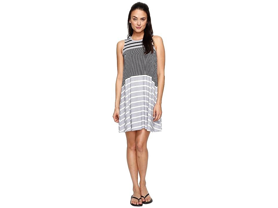 Aventura Clothing Carrick Dress (Heather Grey Stripe) Women