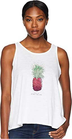 Pineapple Love Breezy Tank Tee