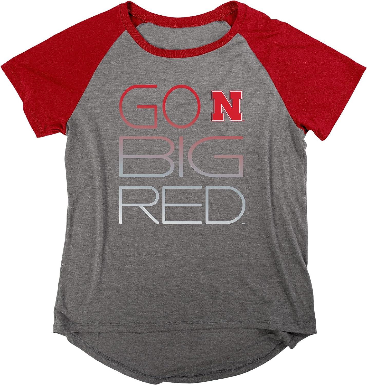 評価 NCAA 商品追加値下げ在庫復活 Women's Gracie Liquid Shirt Raglan Jersey