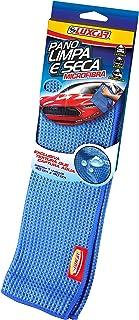 Pano Limpa E Seca Microfibra Vidros E Lataria Luxcar 40 Cm X 40 Cm