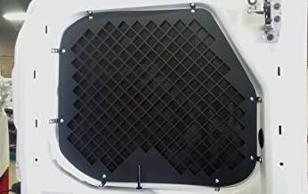 2015 + Ford Transit Window Screens for Low Roof rear swinging cargo doors.
