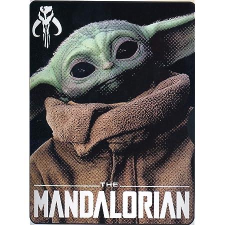 Star Wars Disney The Mandalorian Manta para niño Yoda