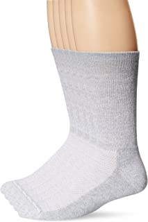 Hanes Men's 5-Pack Ultimate FreshIQ X-Temp Crew Socks (Shoe Size 6-12)