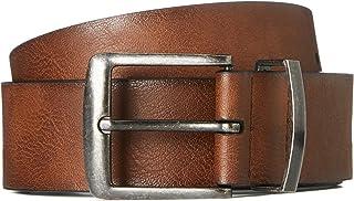 find. Men's Distressed Leather Effect Belt