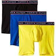 Tommy Hilfiger Men's Underwear Cotton Stretch Boxer Briefs