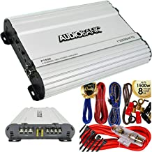 $69 » Sponsored Ad - Audiobank P1502 2 Channels Amplifier 2 Ohm Stable 1500 Watts Peak Power with LED Indicator + Complete 1500 ...